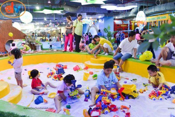 Giải pháp khu vui chơi trẻ em đông khách