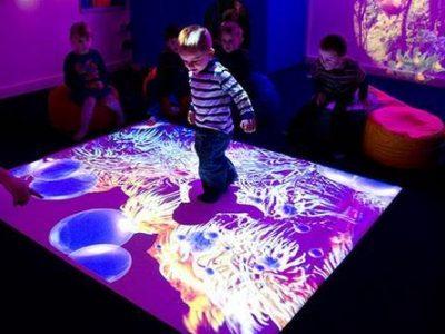 Trò chơi game tương tác thực tế ảo dành cho trẻ em